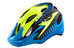 Alpina Carapax Jr. Flash - Casco Niños - amarillo/azul